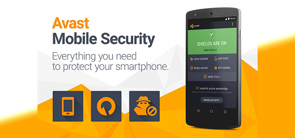 آنتی ویروس آواست Avast Mobile Security Antivirus