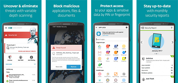 آنتی ویروس Mobile Security Antivirus